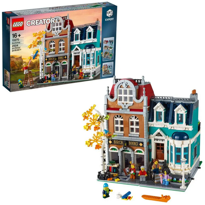 LEGO® Creator Expert 10270 Knihkupectví