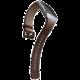 Fitbit Ionic perforovaný kožený řemínek Cognac - velikost S