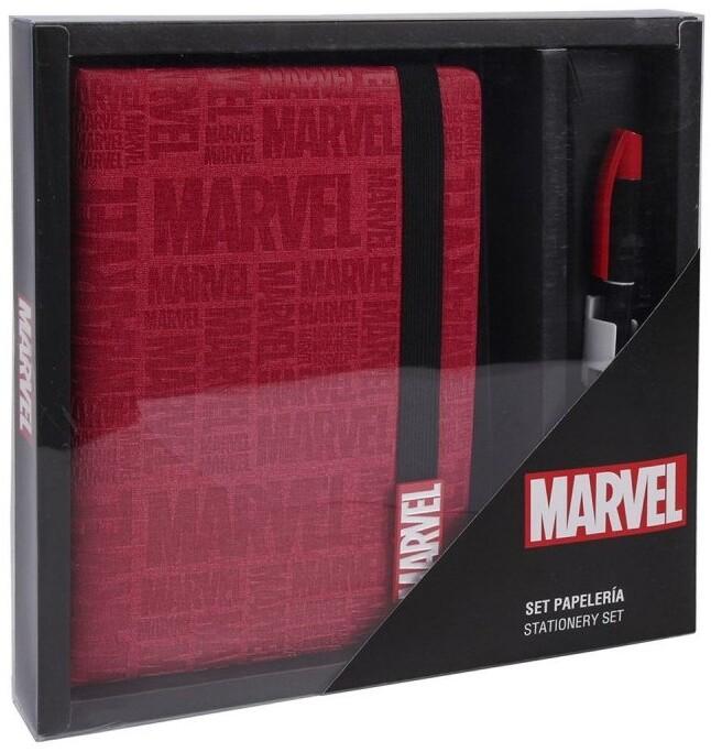 Set Marvel - poznámkový blok a propiska