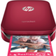 HP Sprocket Photo Printer, červená