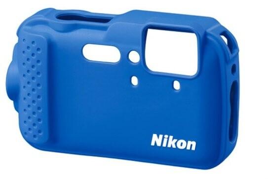 Nikon CF-CP001 silikonový návlek pro AW120 modrá