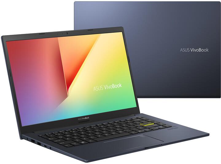 ASUS VivoBook 14 M413DA, černá