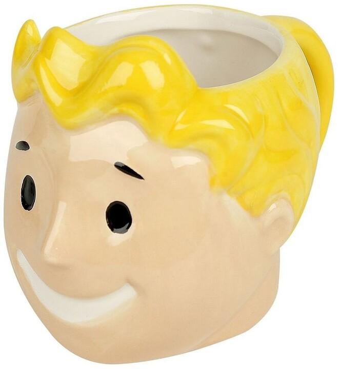 Hrnek Fallout - 3D Vault Boy