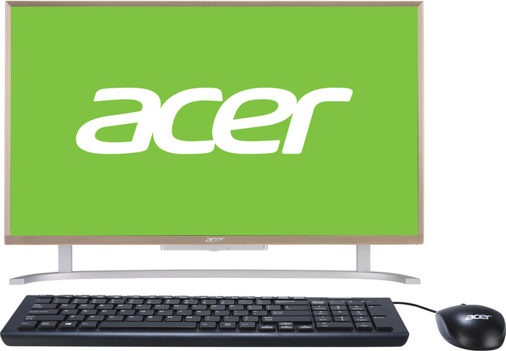 Acer Aspire C 24 (AC24-760), zlatá