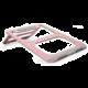 COTEetCI podstavec pro notebook, hliník, růžovo-zlatá