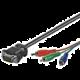 PremiumCord VGA 15p-3xCINCH (RCA) - 10m
