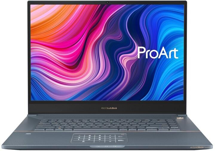 ASUS ProArt StudioBook Pro 17 (W700G2T), šedá