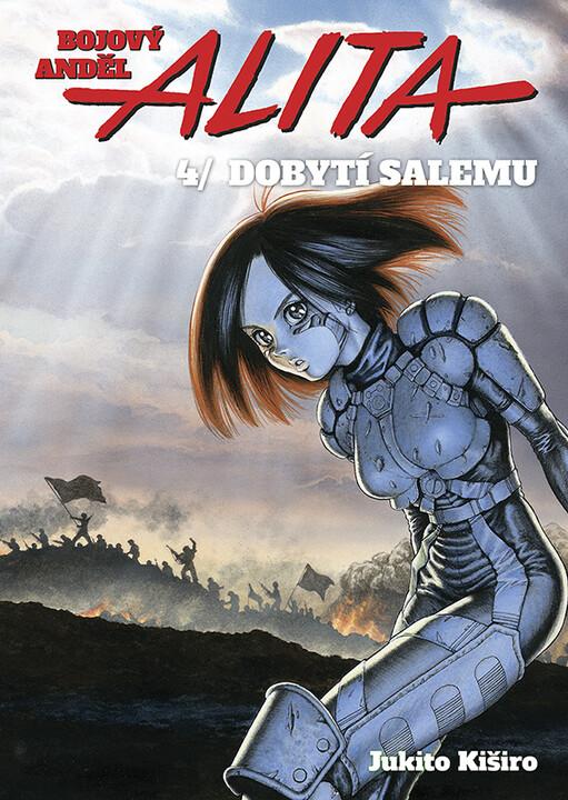 Komiks Bojový anděl Alita: Dobytí Salemu, 4.díl, manga