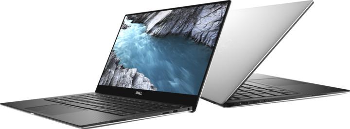 Dell XPS 13( 9370) Touch, stříbrná