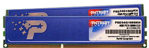 Patriot Signature Line 8GB (2x4GB) DDR3 1333 w/heatshield