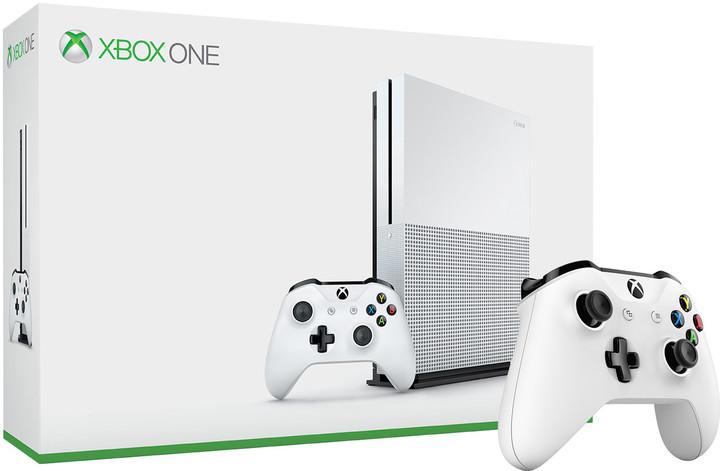 XBOX ONE S, 500GB, bílá