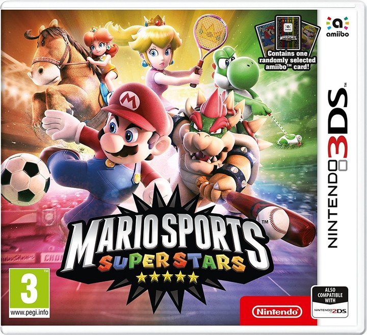 Mario Sports Superstars + amiibo karta (3DS)