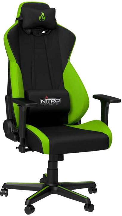Nitro Concepts S300, černá/zelená