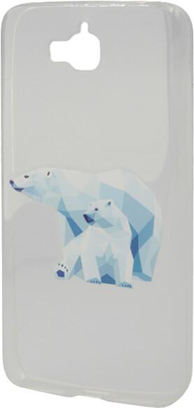 EPICO Pružný plastový kryt pro Huawei Y6 Pro Dual Sim POLAR BEER FAMILY