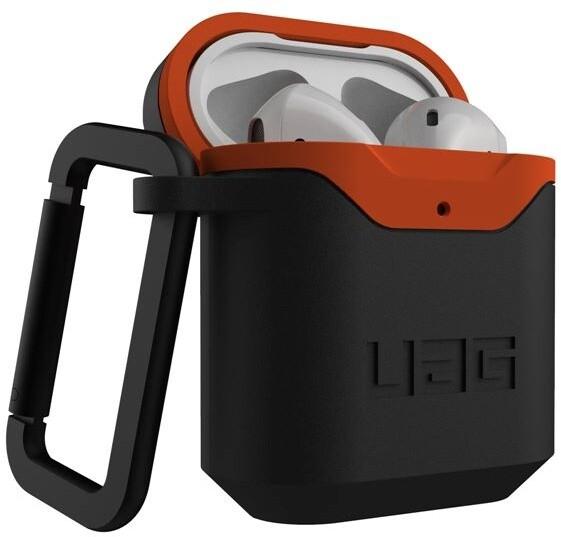 UAG ochranné pouzdro pro AirPods, černá/oranžová