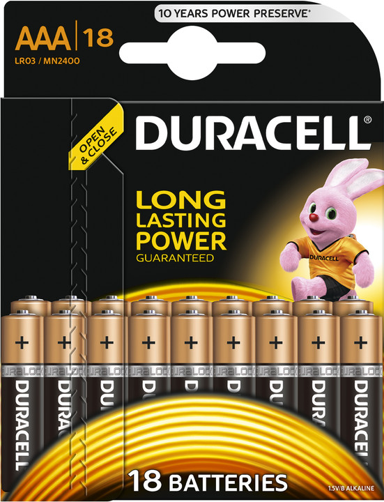 Duracell Basic AAA 18ks
