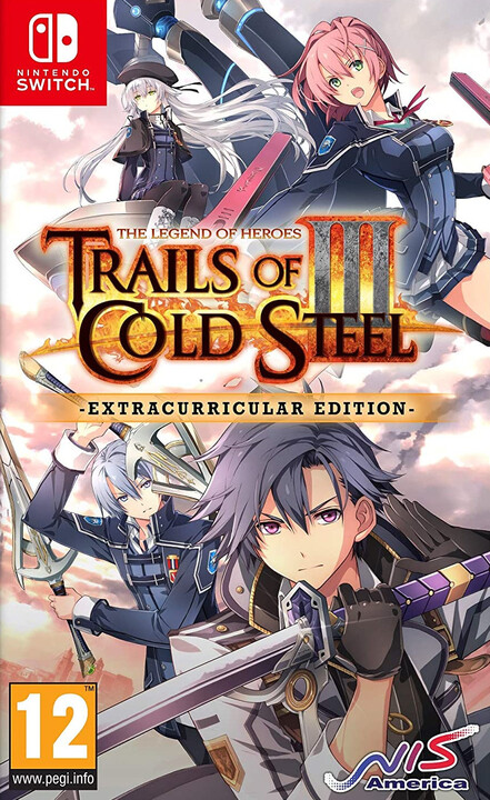 The Legend of Heroes:Trails of Cold Steel III - Extracurricular Edition (SWITCH)