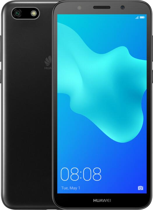 Huawei Y5 2018, 2GB/16GB, černá