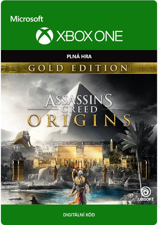 Assassin's Creed: Origins - Gold Edition (Xbox ONE) - elektronicky