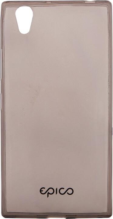 EPICO pružný plastový kryt pro Lenovo P70 RONNY GLOSS - černá