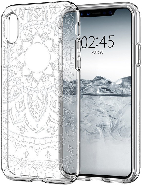 Spigen Liquid Crystal iPhone X, shine clear