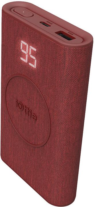 iOttie iON Wireless Go powerbanka 10000mAh, červená