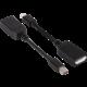 Club3D Mini DisplayPort 1.2a na DisplayPort 1.2a, pasivní adaptér, 13cm
