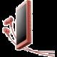 Sony NW-A45HN, 16GB, červená