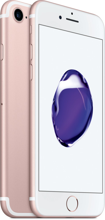 Apple iPhone 7, 256GB, růžová/zlatá