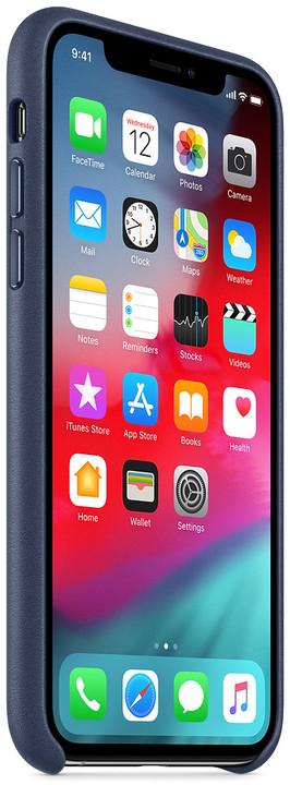 Apple kožený kryt na iPhone XS e612e3d5dec