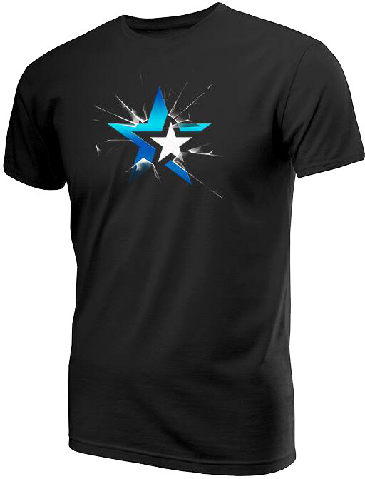 Tričko eSuba Shatter, černé (S)