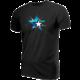 Tričko eSuba Shatter, černé (XL)
