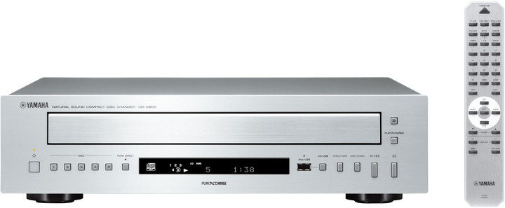 Yamaha CD-C600, stříbrná