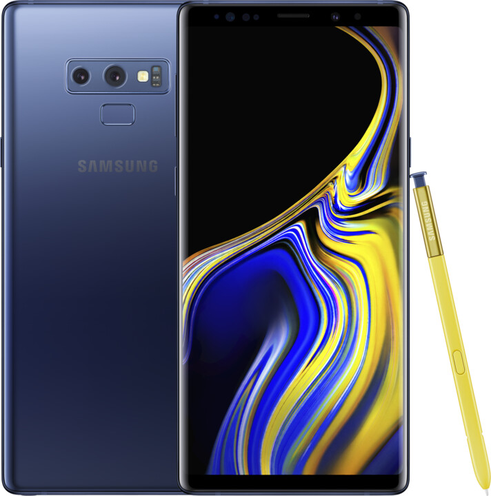 Samsung Galaxy Note9, 6GB/128GB, modrá