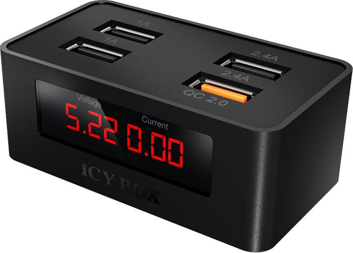 ICY BOX IB-CH403 4-Port USB fast-charging-device