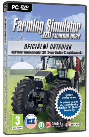 Farming Simulator: JZD moderní doby - datadisk - PC