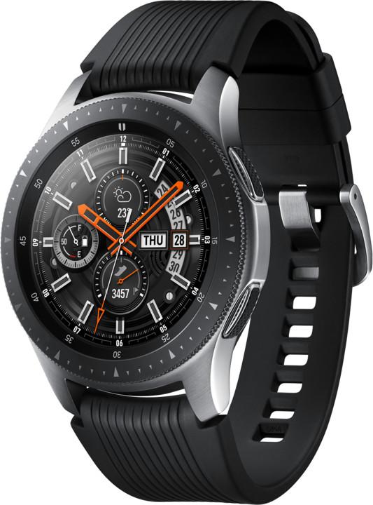 Samsung Galaxy Watch 46mm, stříbrná