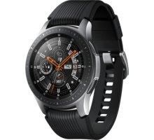 Samsung Galaxy Watch 46mm, stříbrná - SM-R800NZSAXEZ