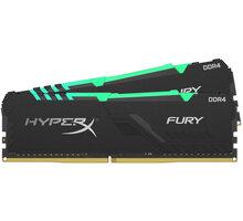 HyperX Fury RGB 32GB (2x16GB) DDR4 2666 CL16 CL 16 - HX426C16FB4AK2/32