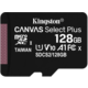 Kingston Micro SDXC Canvas Select Plus 100R 128GB 100MB/s UHS-I