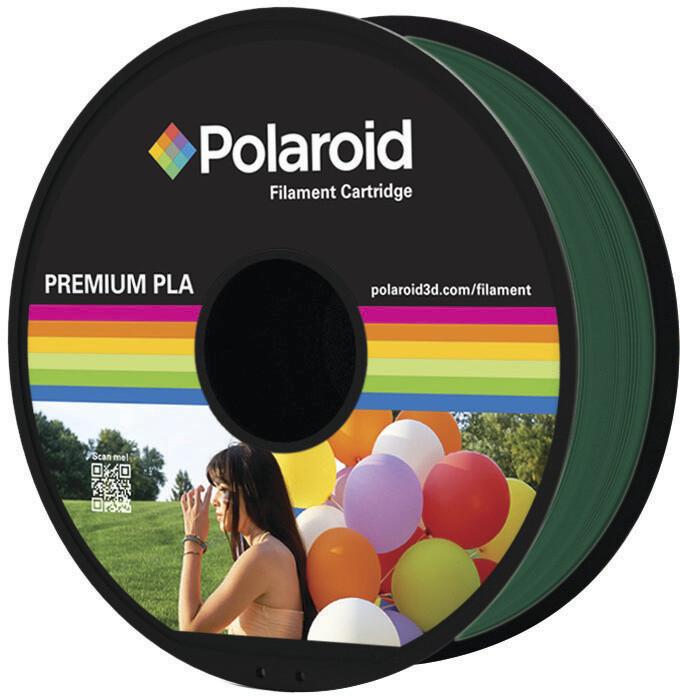 Polaroid 3D 1Kg Universal Premium PLA 1,75mm, tmavě zelená
