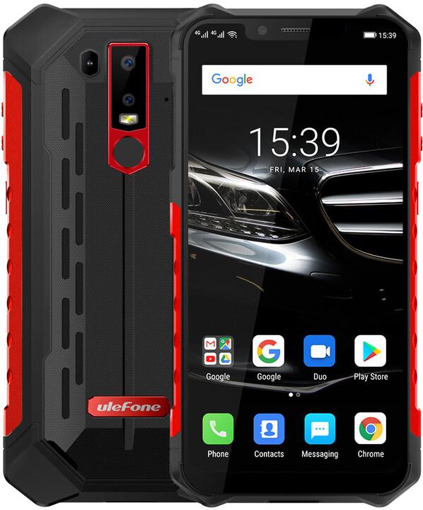 UleFone Armor 6E, 4GB/64GB, červená