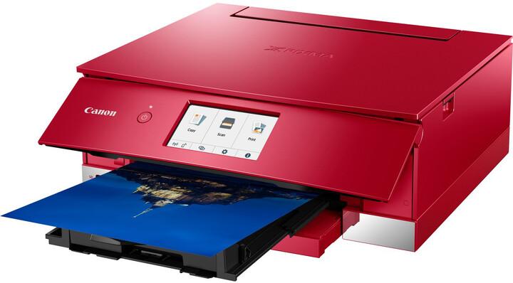 Canon PIXMA TS8352, červená
