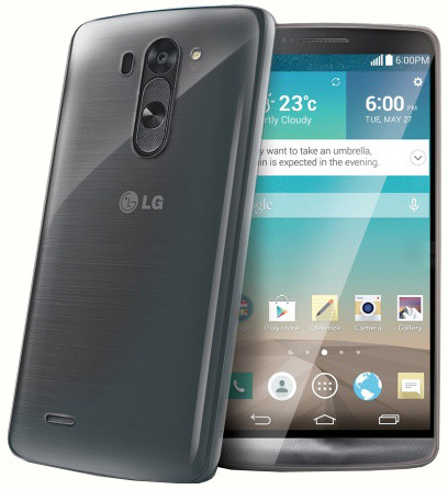 CELLY Gelskin pouzdro pro LG G3 S, bezbarvé