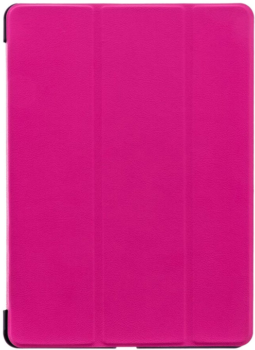 Tactical Book Tri Fold pouzdro pro Samsung T510/T515 Galaxy TAB 2 2019, růžová