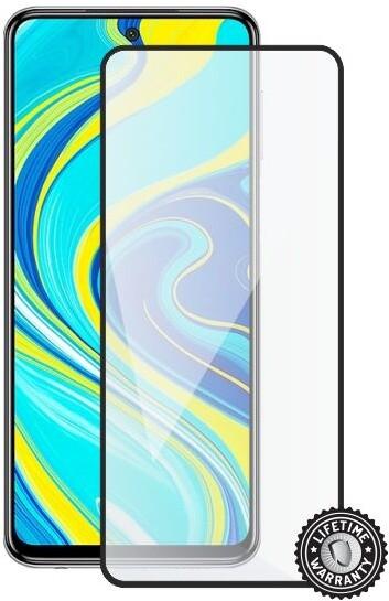 Screenshield ochrana displeje Tempered Glass pro Xiaomi Redmi Note 9 Pro, full cover, černá