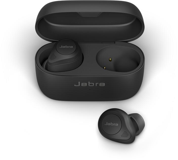 Jabra Elite 85t, černá