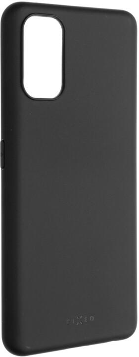 FIXED pogumovaný kryt Story pro Realme 7 Pro, černá