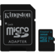 Kingston Micro SDHC Canvas Go! 32GB 90MB/s UHS-I U3 + SD adaptér