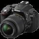 Nikon D5300 + 18-55 VR AF-P, černá  + Nikon Coolpix A10, černá v hodnotě 1590 Kč